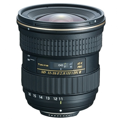 TOKINA 11-16 mm f/2,8 DX AT-X II pro Nikon + CPL filtr HOYA HD ZDARMA!